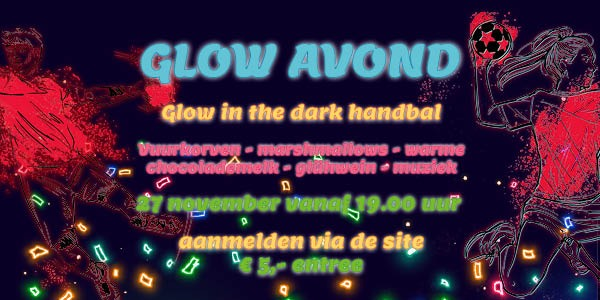 Glow in the dark Handbal